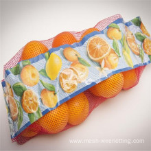 pe vegetable fruit mesh bag netting